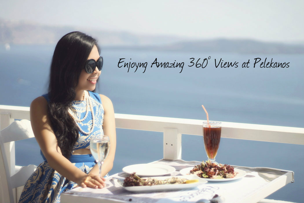 Amazing 360° Views & Fresh Fares at Pelekanos