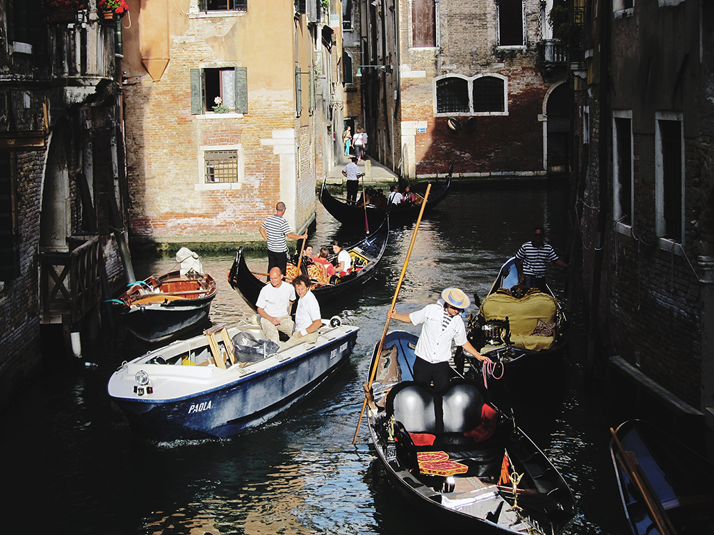 Traveling to Venice is Like Journeying to the Moon