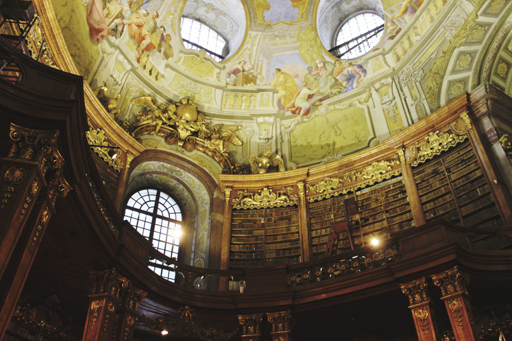 STYLEAT30 Travel + Fashion Blog - Vienna State Hall - Austrian National Library - Vienna Travel Guide - Austria - 2