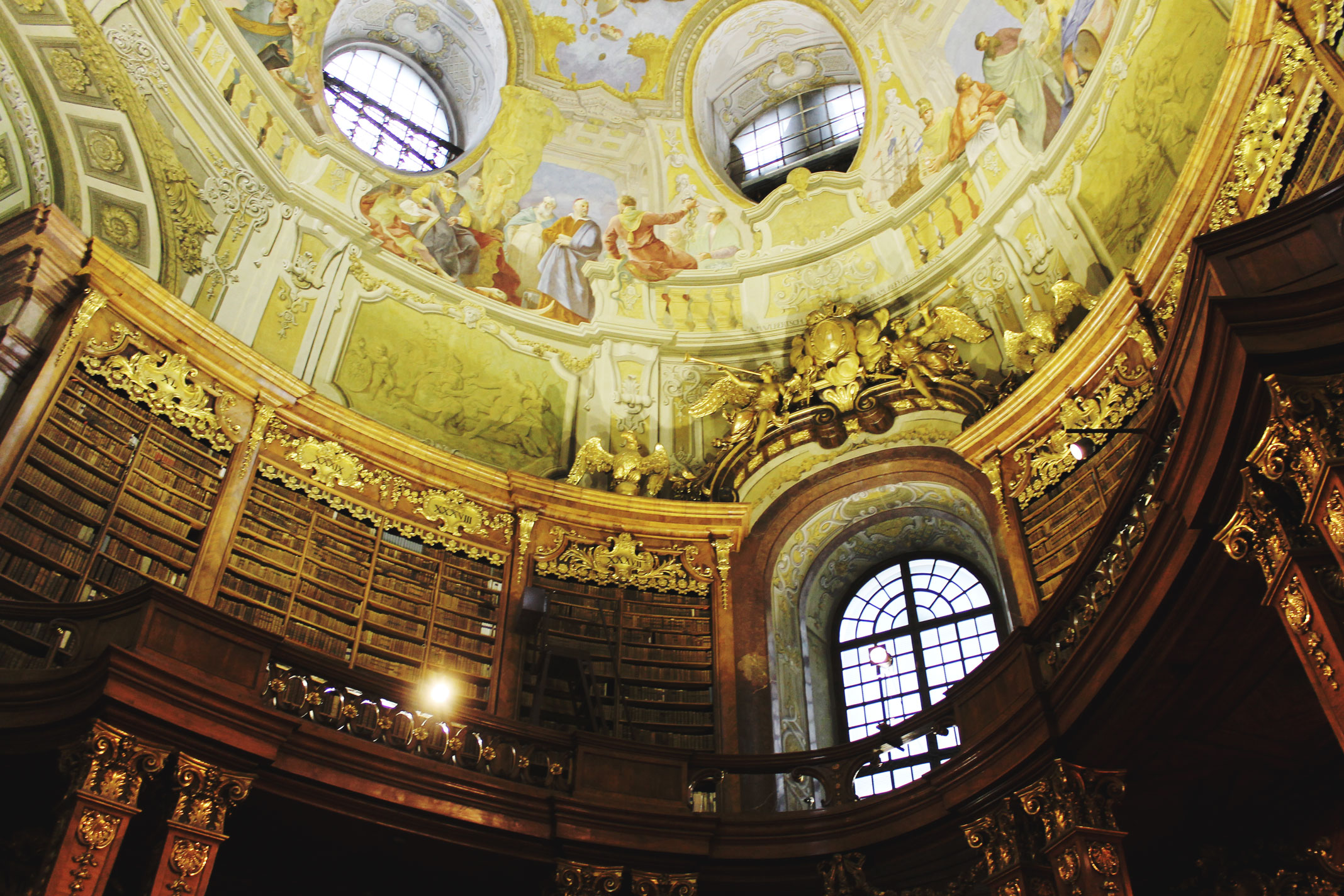 STYLEAT30 Travel + Fashion Blog - Vienna State Hall - Austrian National Library - Vienna Travel Guide - Austria - 3