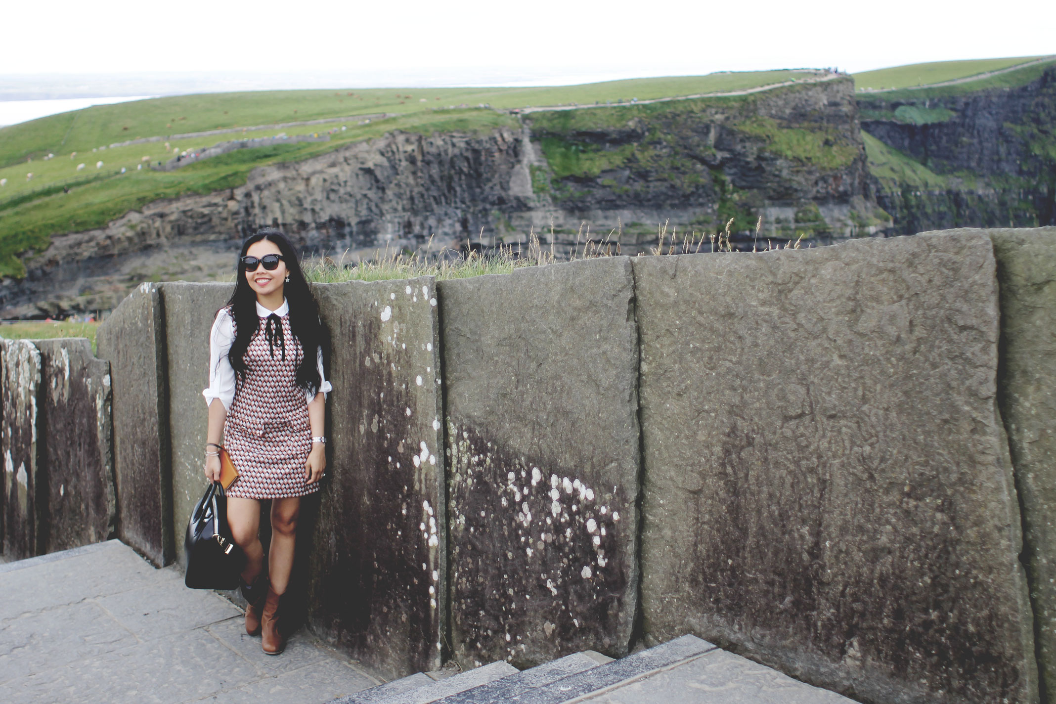 Fashion Blog - Dublin, Ireland - Cliffs of Moher - Styleat30