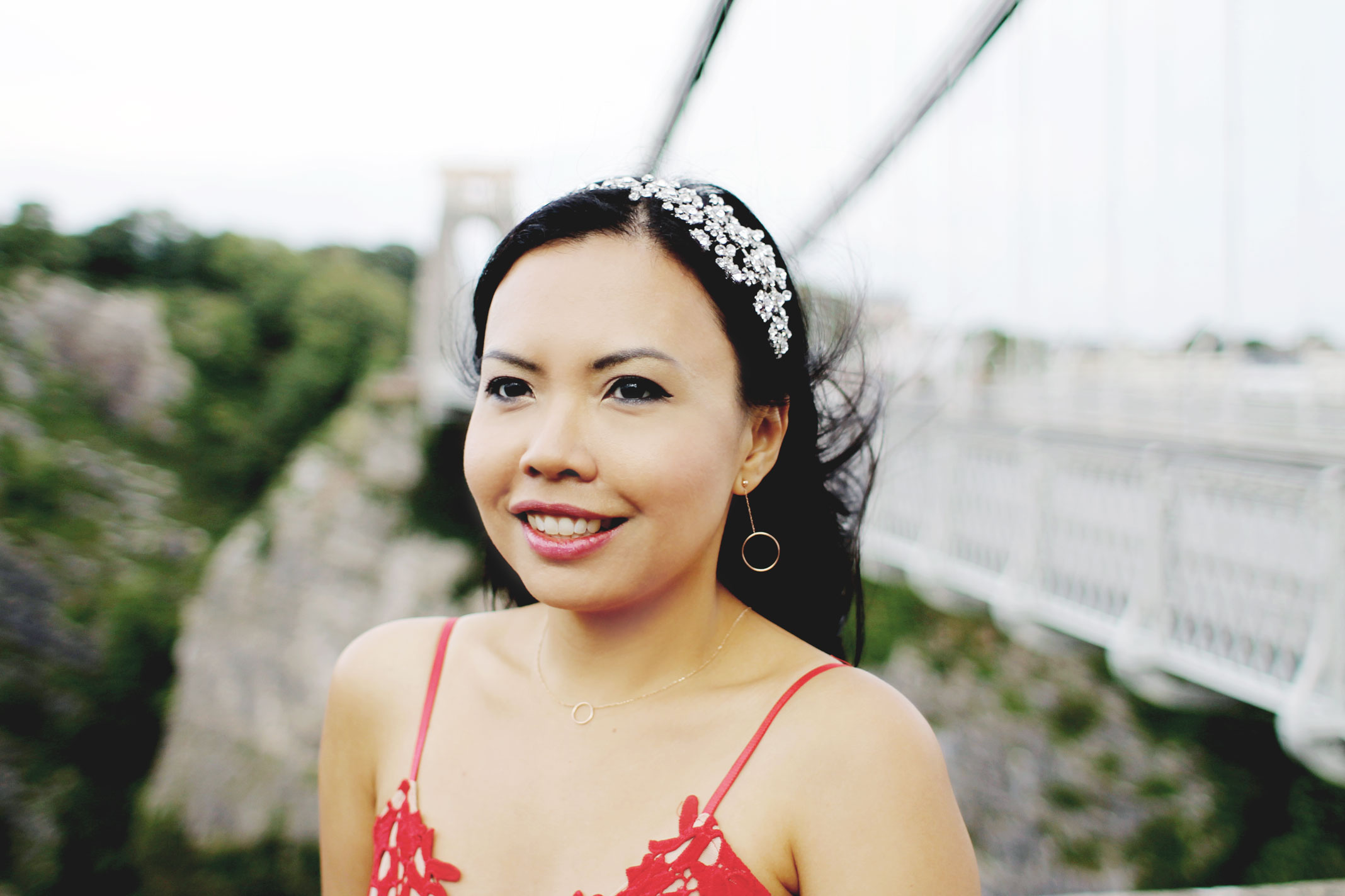 Styleat30 - Travel UK - Bristol - Clifton Suspension Bridge - Start a Blog - Party Dress - Zaful Promotion 01