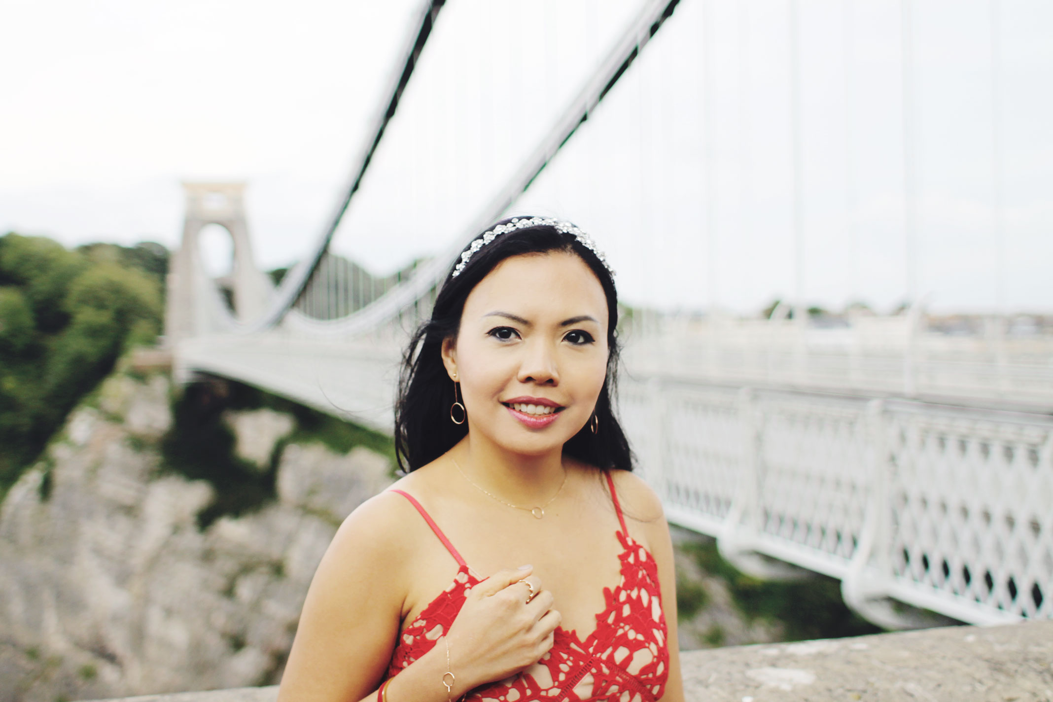 Styleat30 - Travel UK - Bristol - Clifton Suspension Bridge - Start a Blog - Party Dress - Zaful Promotion 02