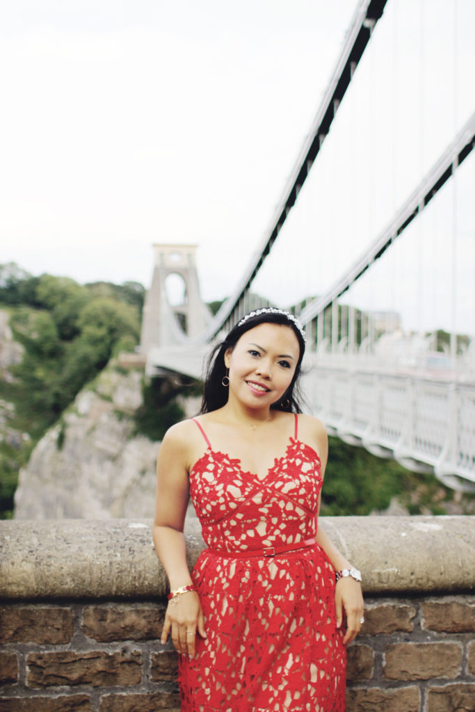 Styleat30 - Travel UK - Bristol - Clifton Suspension Bridge - Start a Blog - Party Dress - Zaful Promotion 03