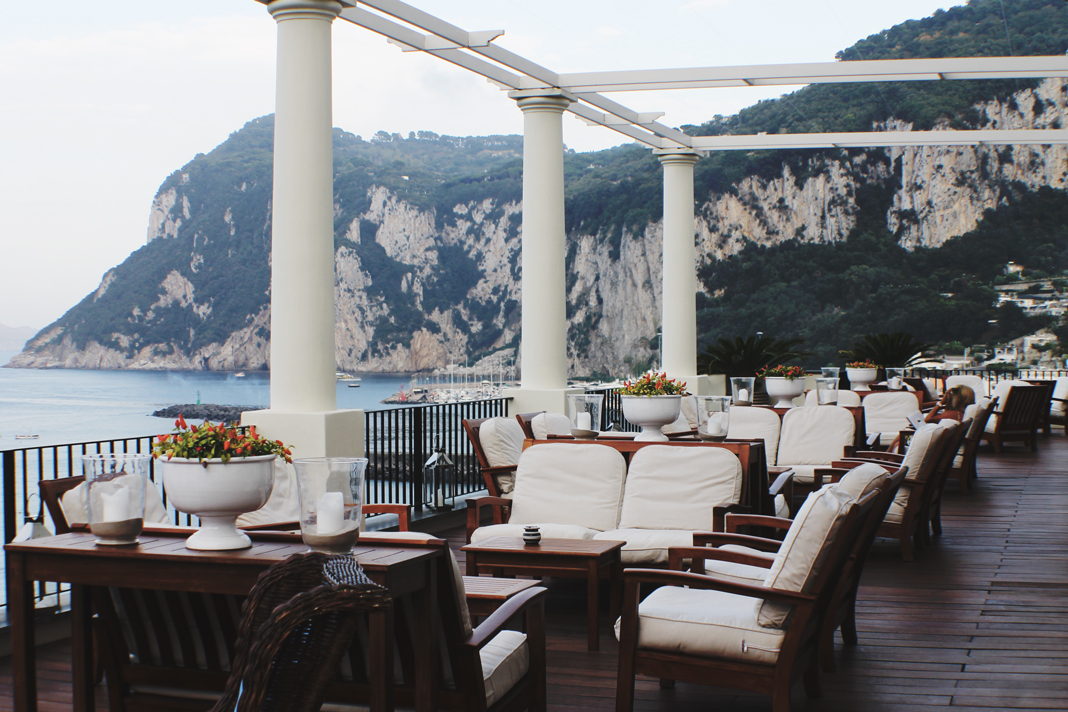 J K Place Capri Hotel Luxury Five Stars Italy Travel Guide